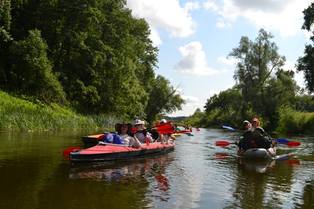 8.1 Lee Scool Kayaking trip