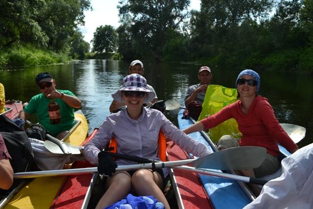 8.2 Lee Scool Kayaking trip